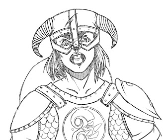 The Elder Scrolls coloring #5, Download drawings