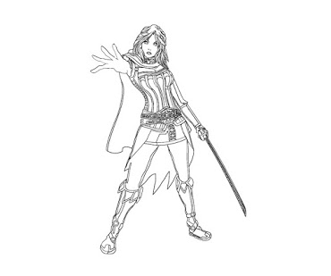 The Elder Scrolls coloring #10, Download drawings