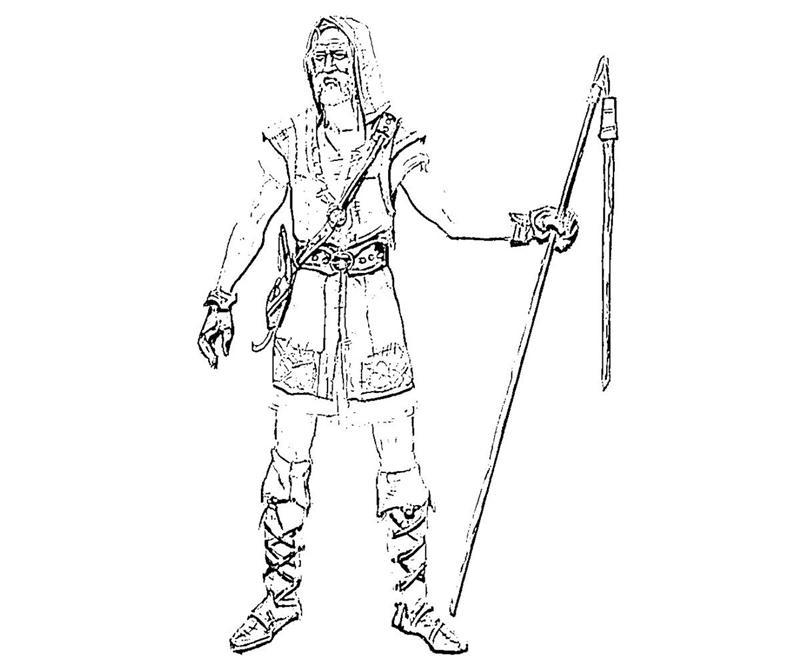 The Elder Scrolls coloring #17, Download drawings