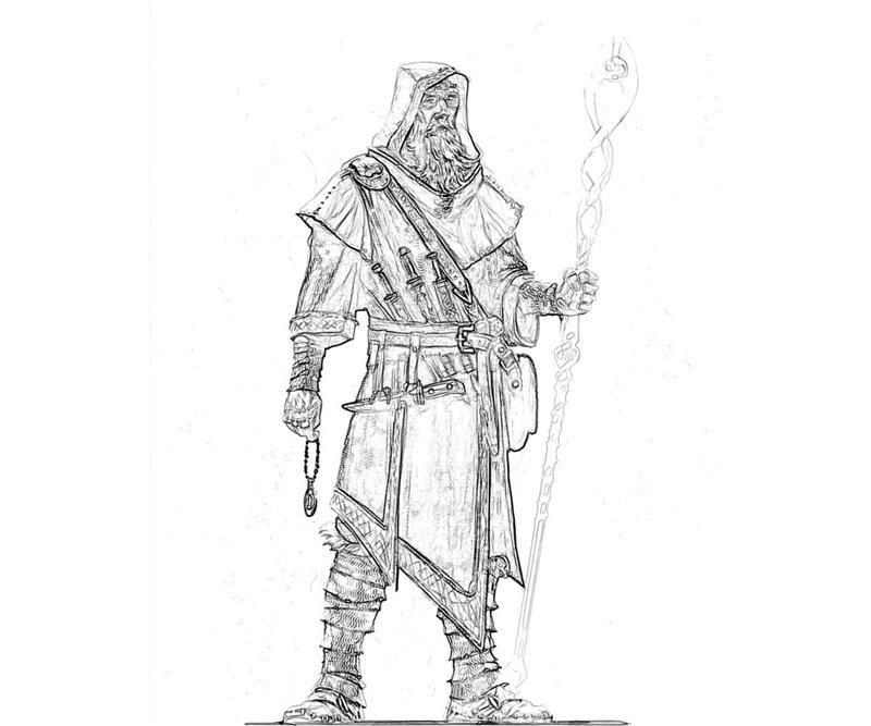 The Elder Scrolls coloring #16, Download drawings