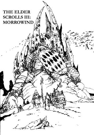 The Elder Scrolls III: Morrowind coloring #20, Download drawings