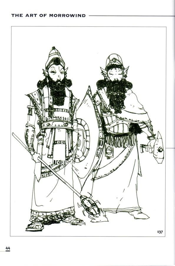 The Elder Scrolls III: Morrowind coloring #14, Download drawings