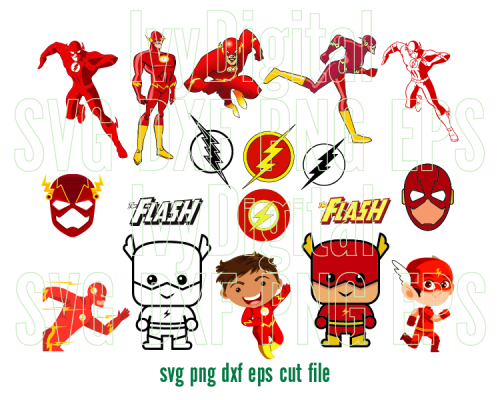 the flash svg #699, Download drawings