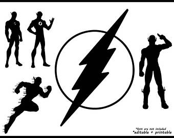 the flash svg #695, Download drawings
