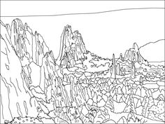 The Flatirons coloring #15, Download drawings