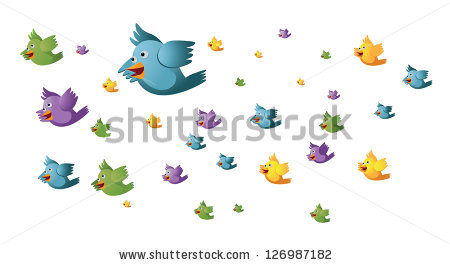 The Flock clipart #9, Download drawings