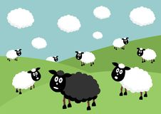 The Flock clipart #7, Download drawings