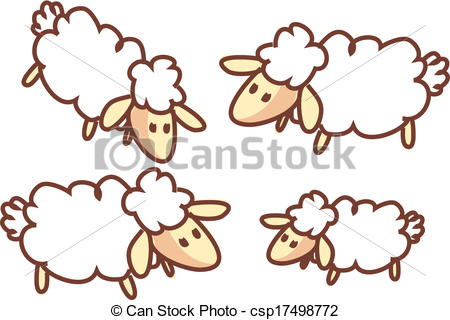 The Flock clipart #14, Download drawings