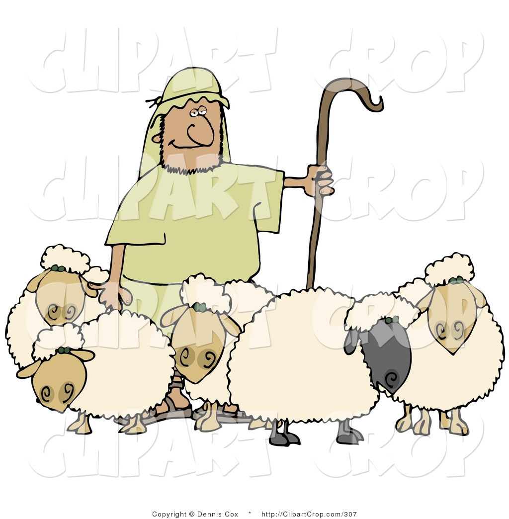 The Flock clipart #15, Download drawings
