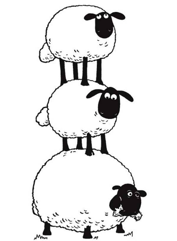 The Flock clipart #2, Download drawings