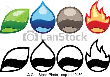 The Four Elements clipart #12, Download drawings