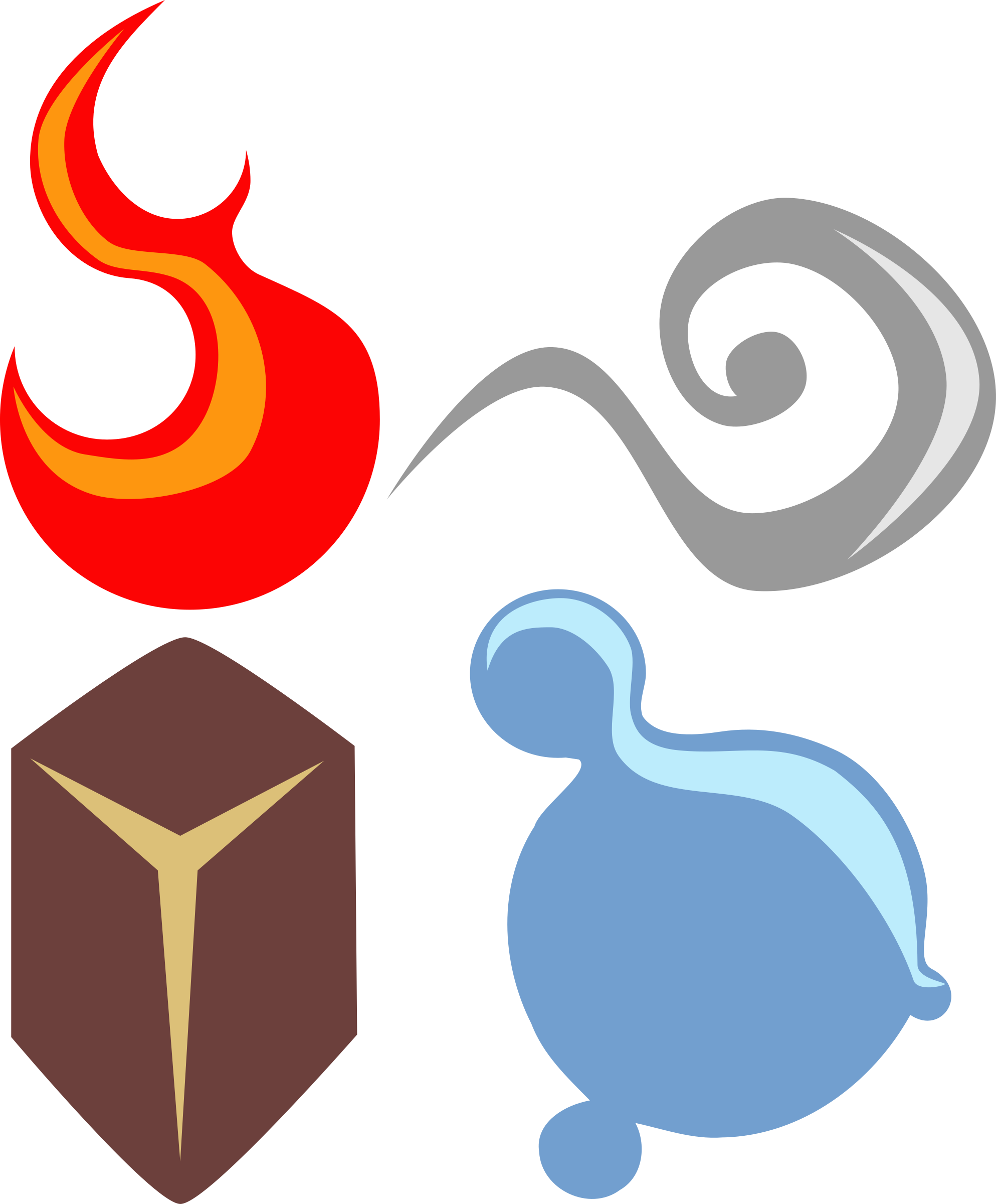 The Four Elements clipart #10, Download drawings