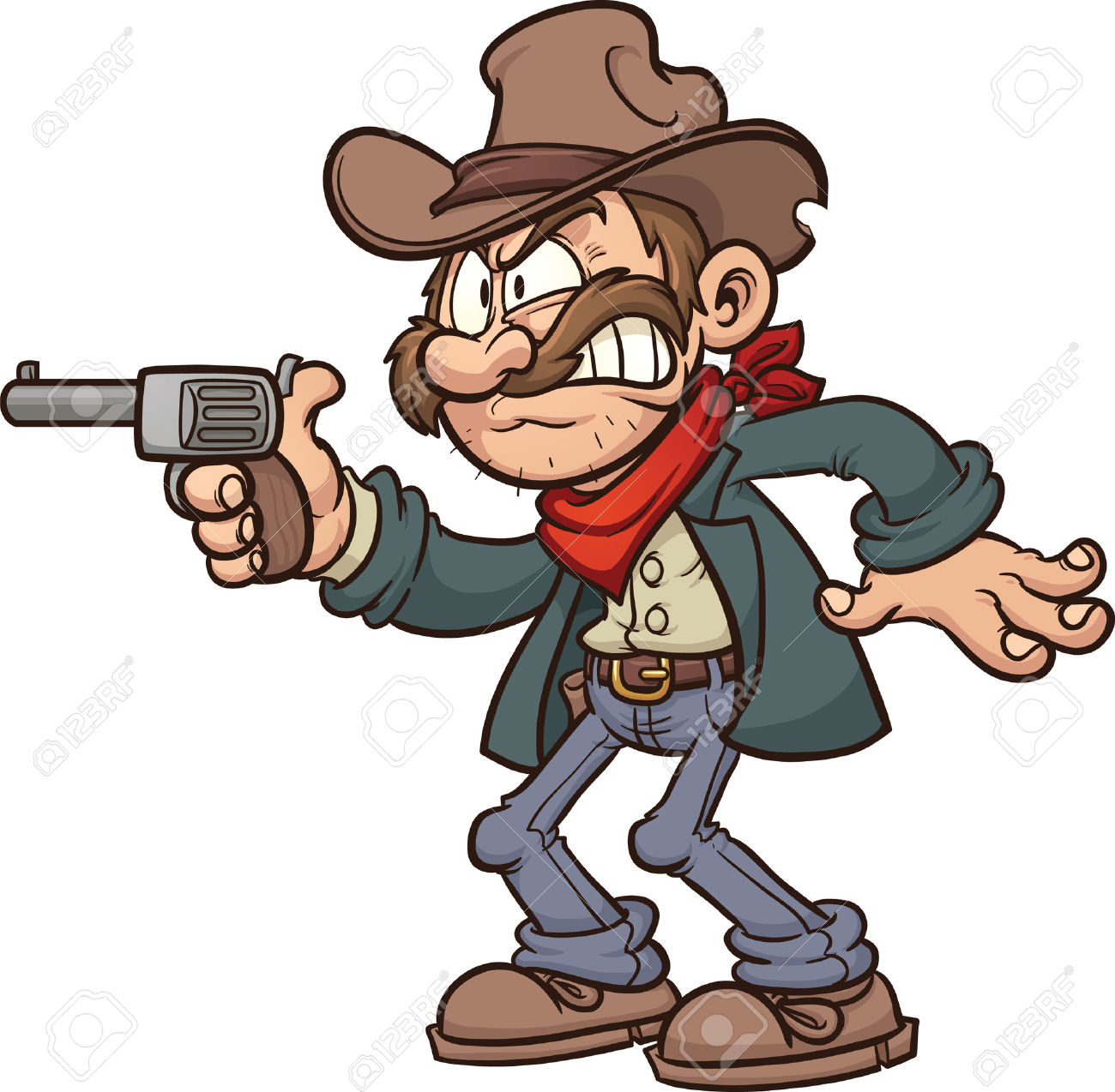 The Gunslinger clipart #20, Download drawings