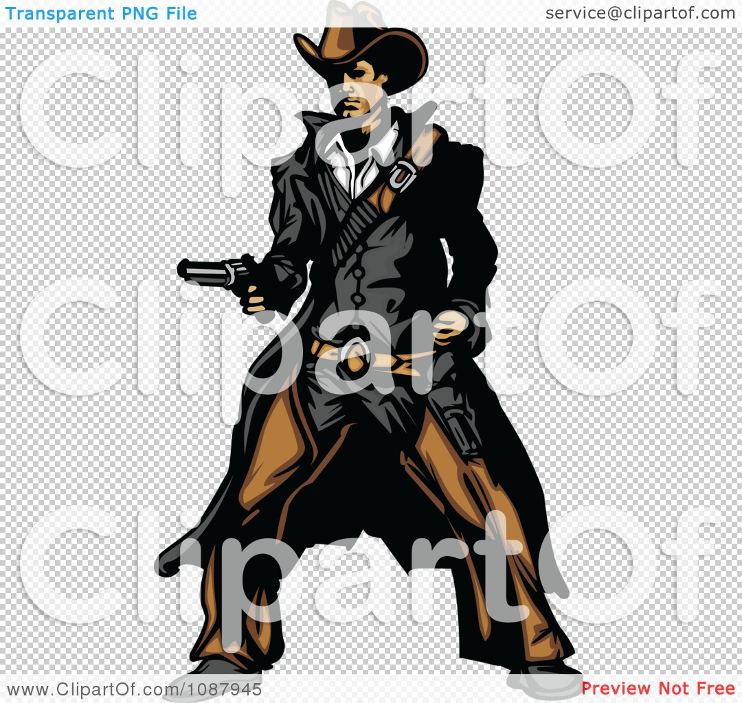 The Gunslinger clipart #5, Download drawings