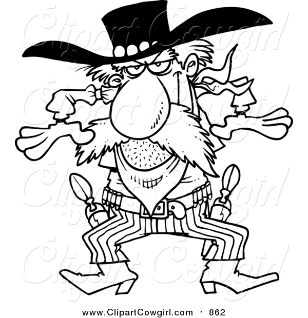 The Gunslinger clipart #12, Download drawings