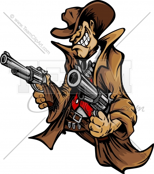 The Gunslinger clipart #10, Download drawings