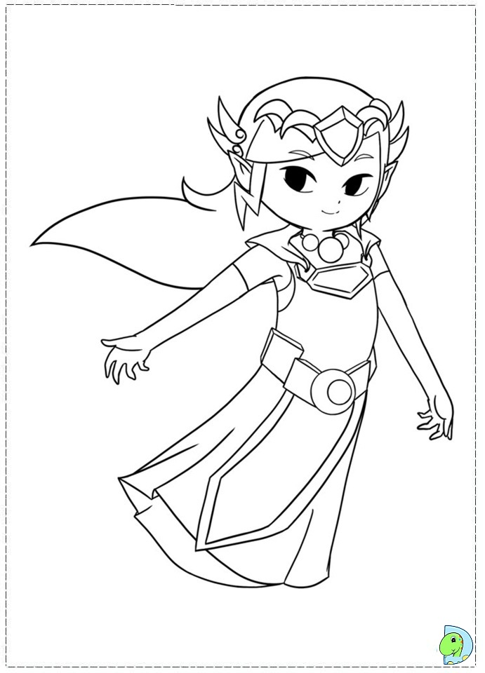 The Legend Of Zelda coloring #2, Download drawings
