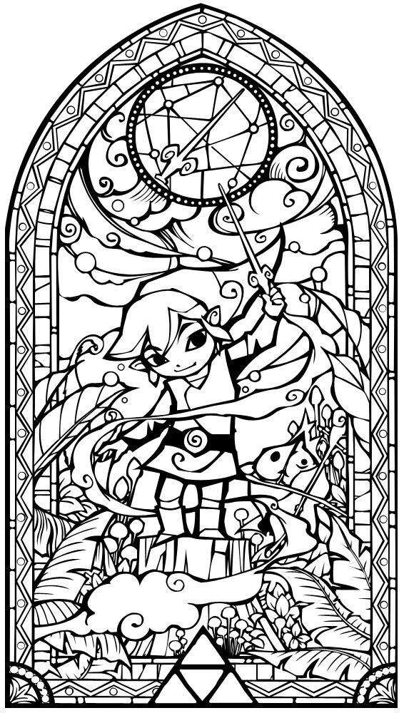 The Legend Of Zelda coloring #6, Download drawings