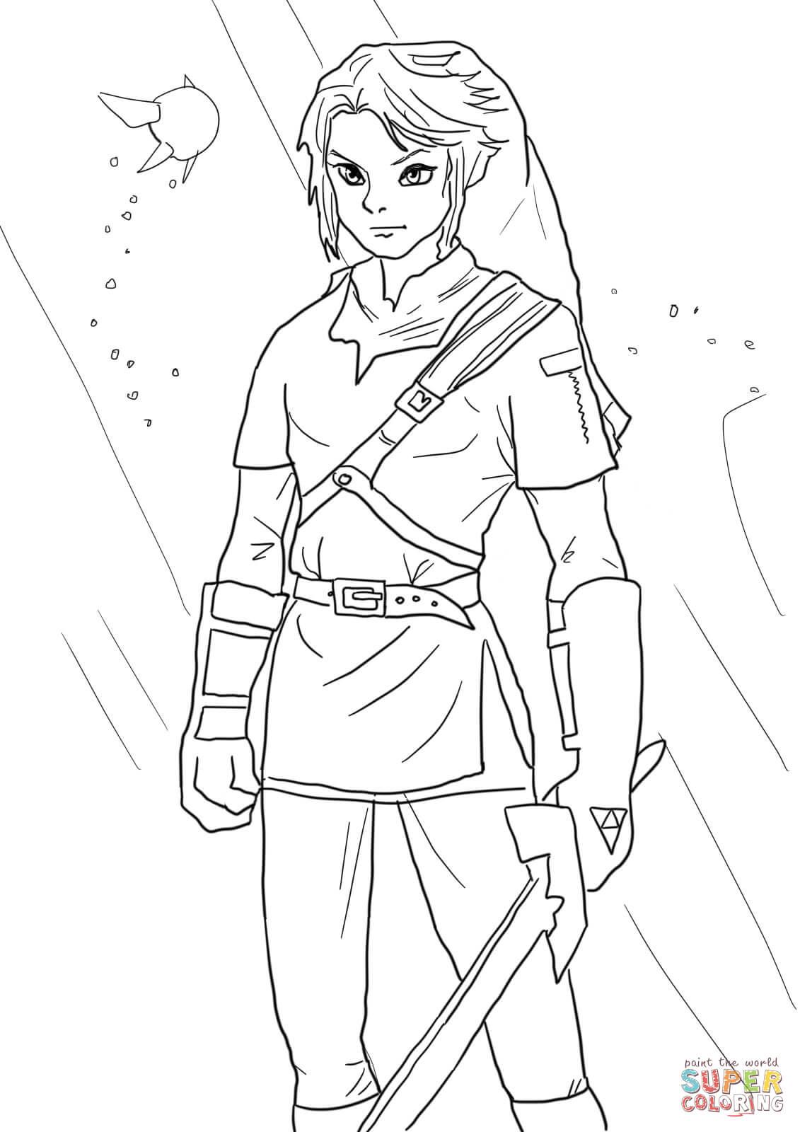 The Legend Of Zelda coloring #14, Download drawings