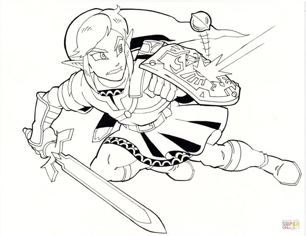 The Legend Of Zelda coloring #15, Download drawings