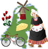 The Netherlands clipart #14, Download drawings