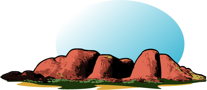 The Olgas clipart #4, Download drawings