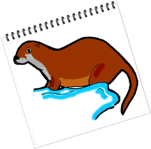 The Otter clipart #7, Download drawings