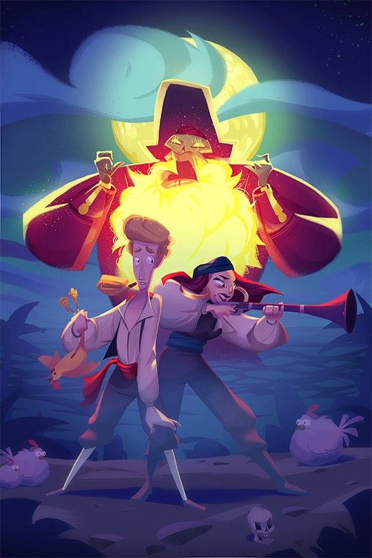 The Secret Of Monkey Island coloring #14, Download drawings