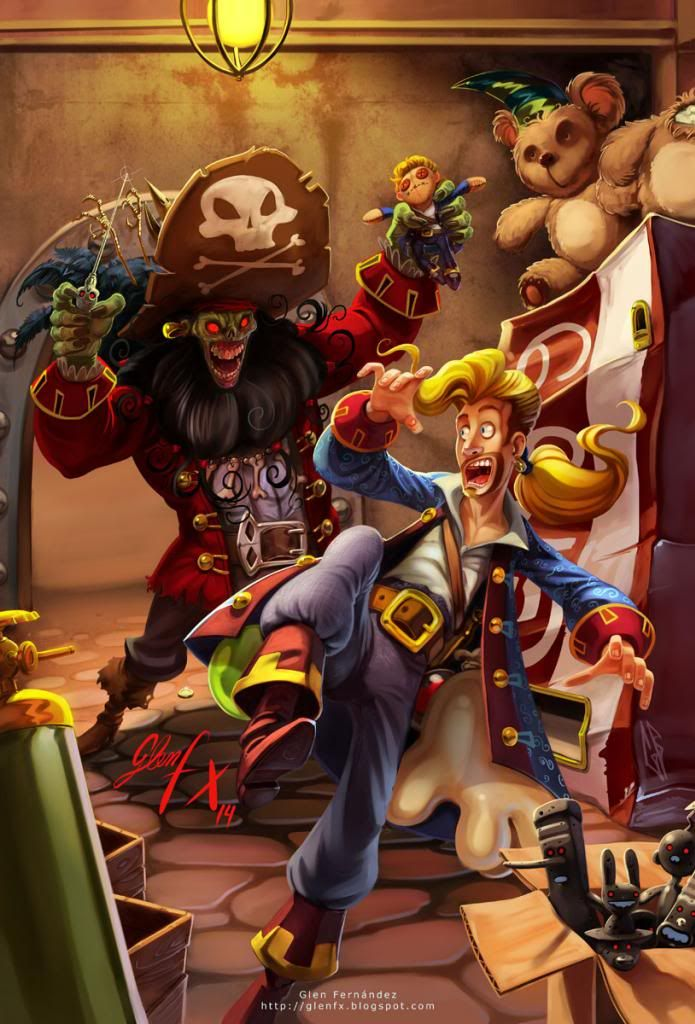 The Secret Of Monkey Island coloring #4, Download drawings