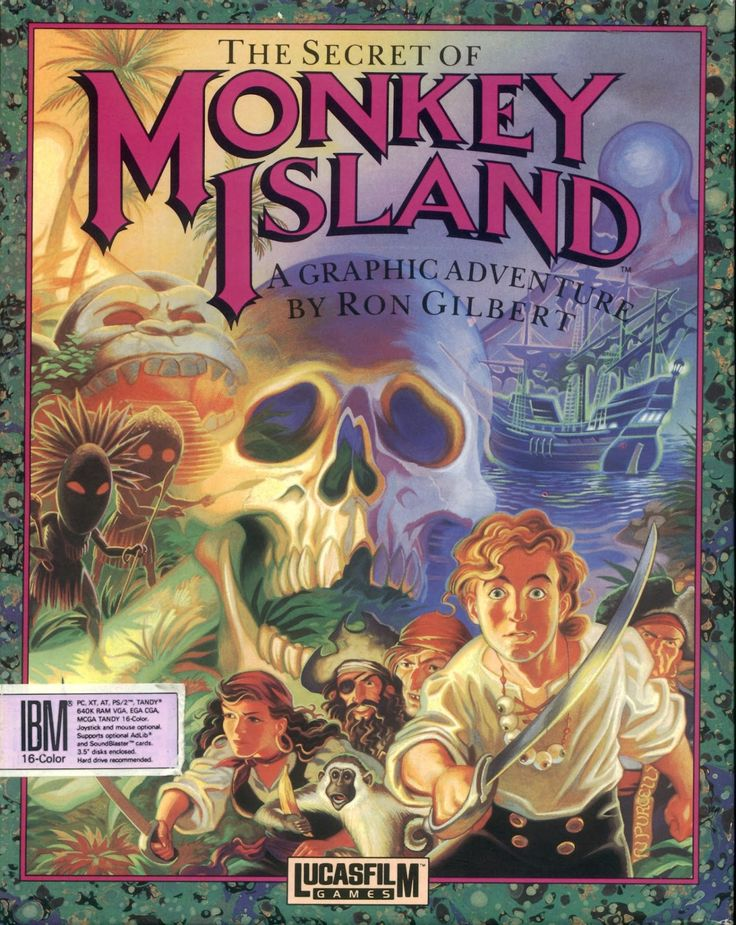 The Secret Of Monkey Island coloring #12, Download drawings