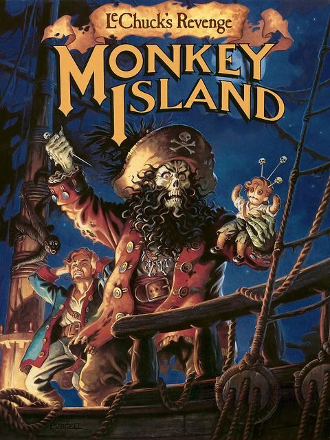 The Secret Of Monkey Island coloring #10, Download drawings
