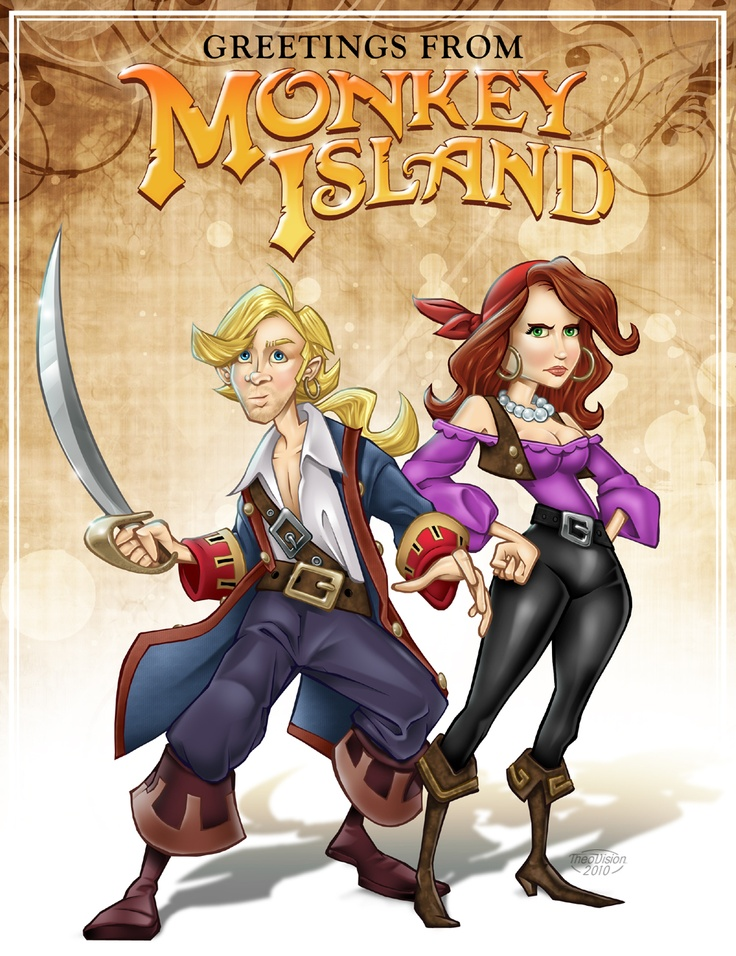 The Secret Of Monkey Island coloring #6, Download drawings