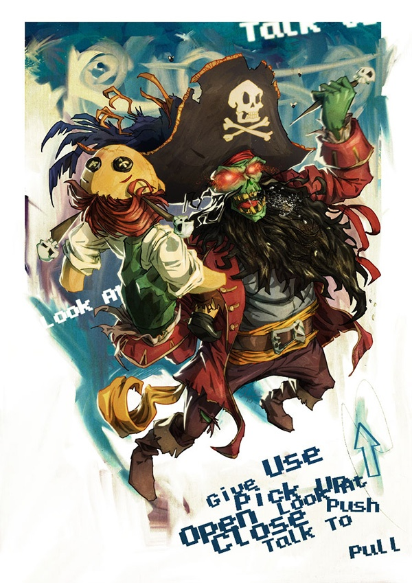 The Secret Of Monkey Island coloring #11, Download drawings