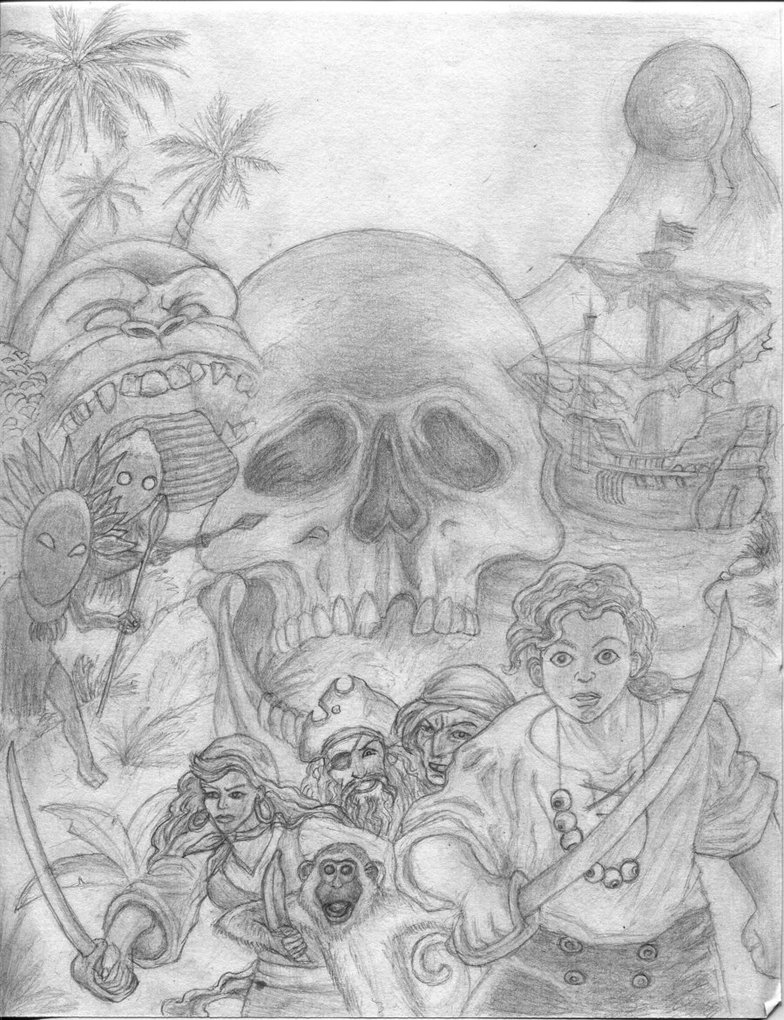 The Secret Of Monkey Island coloring #17, Download drawings