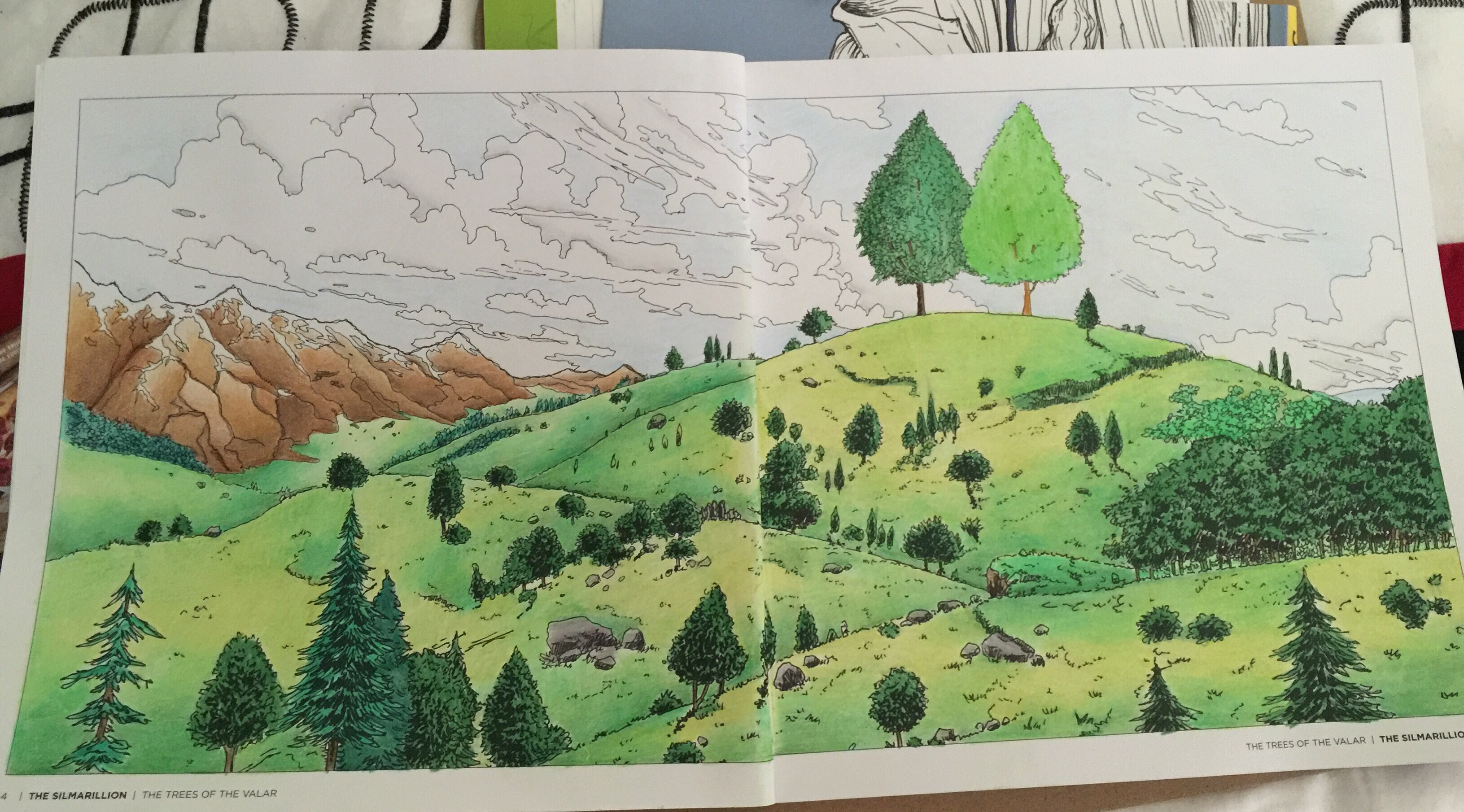The Silmarillion coloring #5, Download drawings