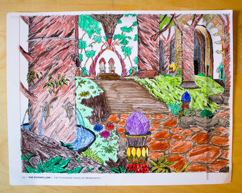 The Silmarillion coloring #3, Download drawings