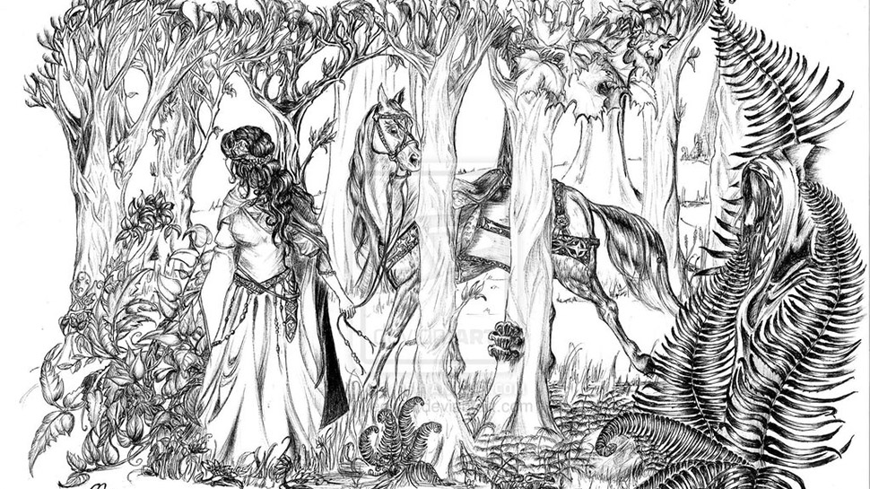 The Silmarillion coloring #12, Download drawings