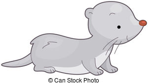 The Stoat clipart #14, Download drawings