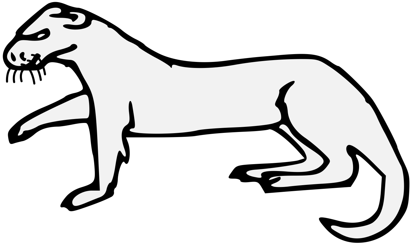 Weasel svg #6, Download drawings