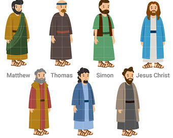 The Twelve Apostles clipart #4, Download drawings