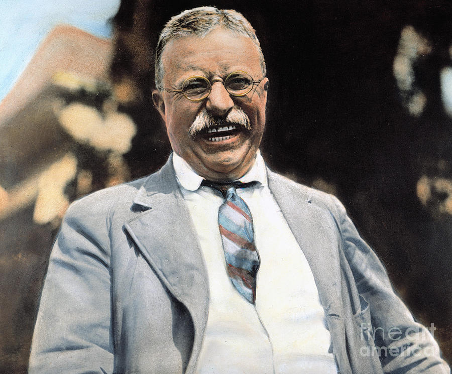 Theodore Roosevelt coloring #8, Download drawings
