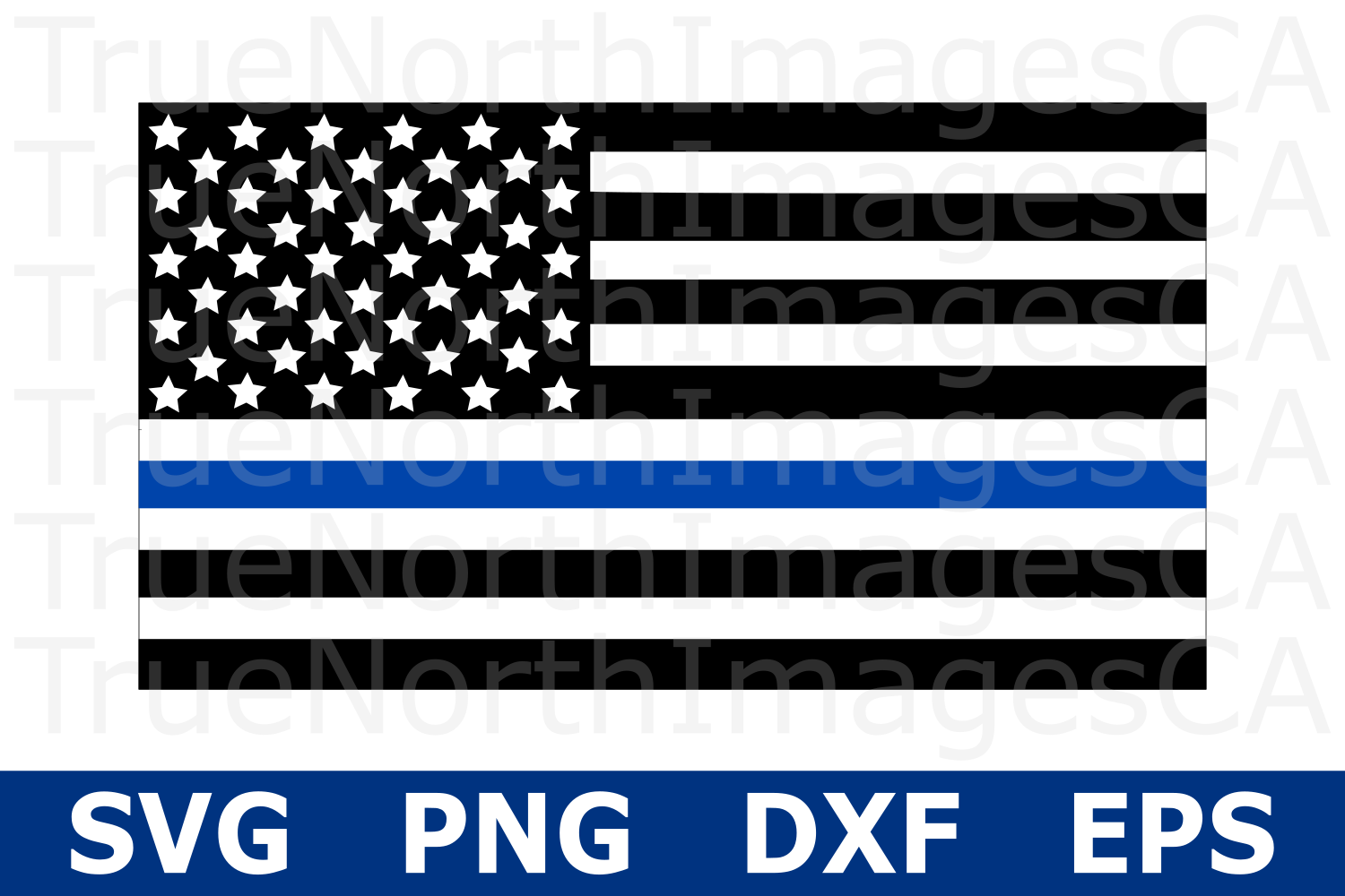 thin blue line flag svg #92, Download drawings