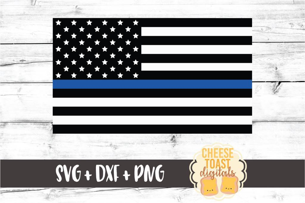 thin blue line flag svg #82, Download drawings
