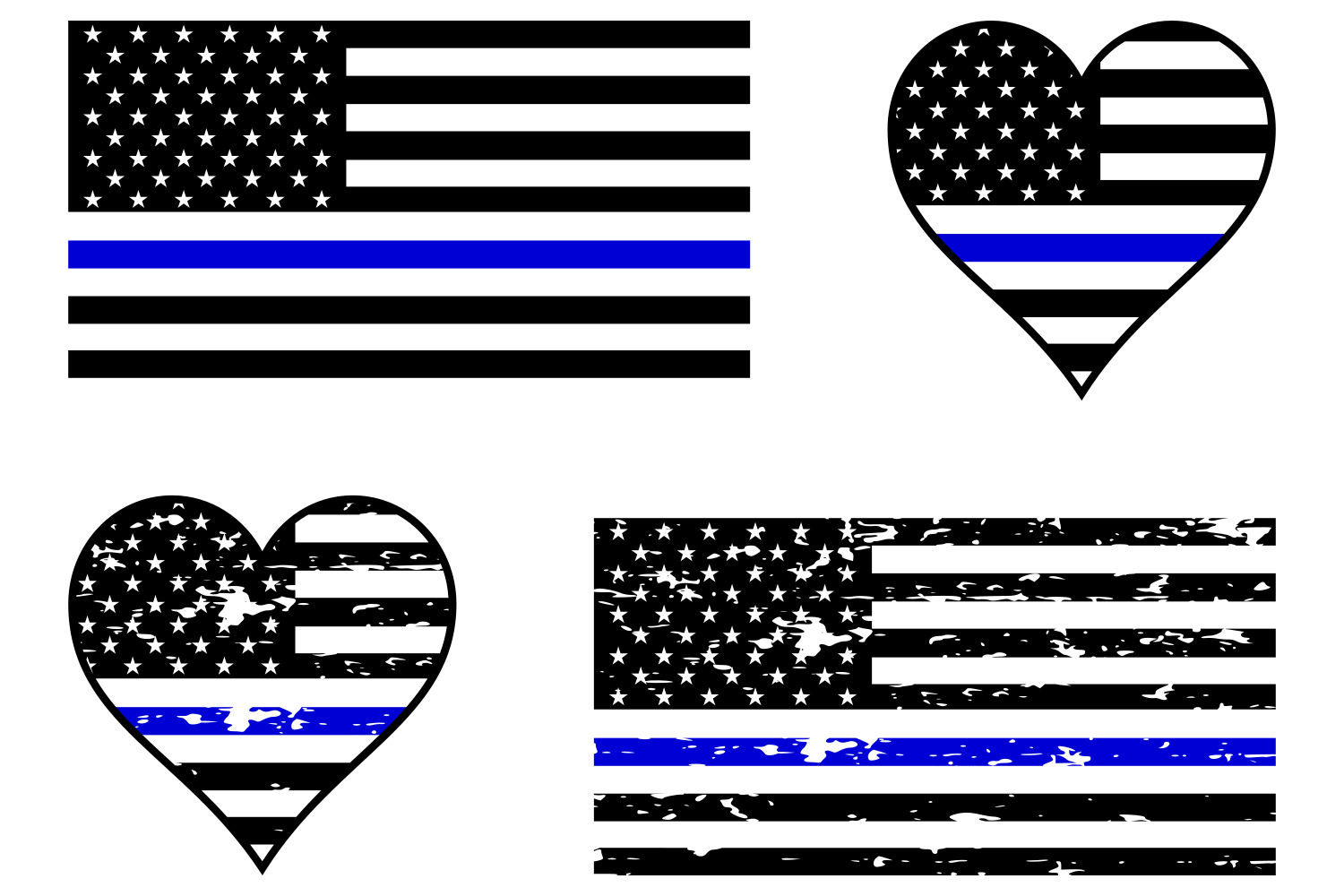 thin blue line flag svg #86, Download drawings