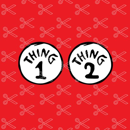 thing 1 svg #28, Download drawings