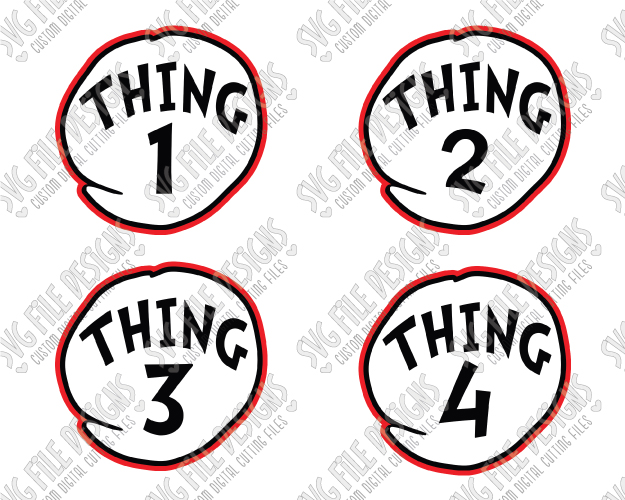 thing 1 svg #32, Download drawings