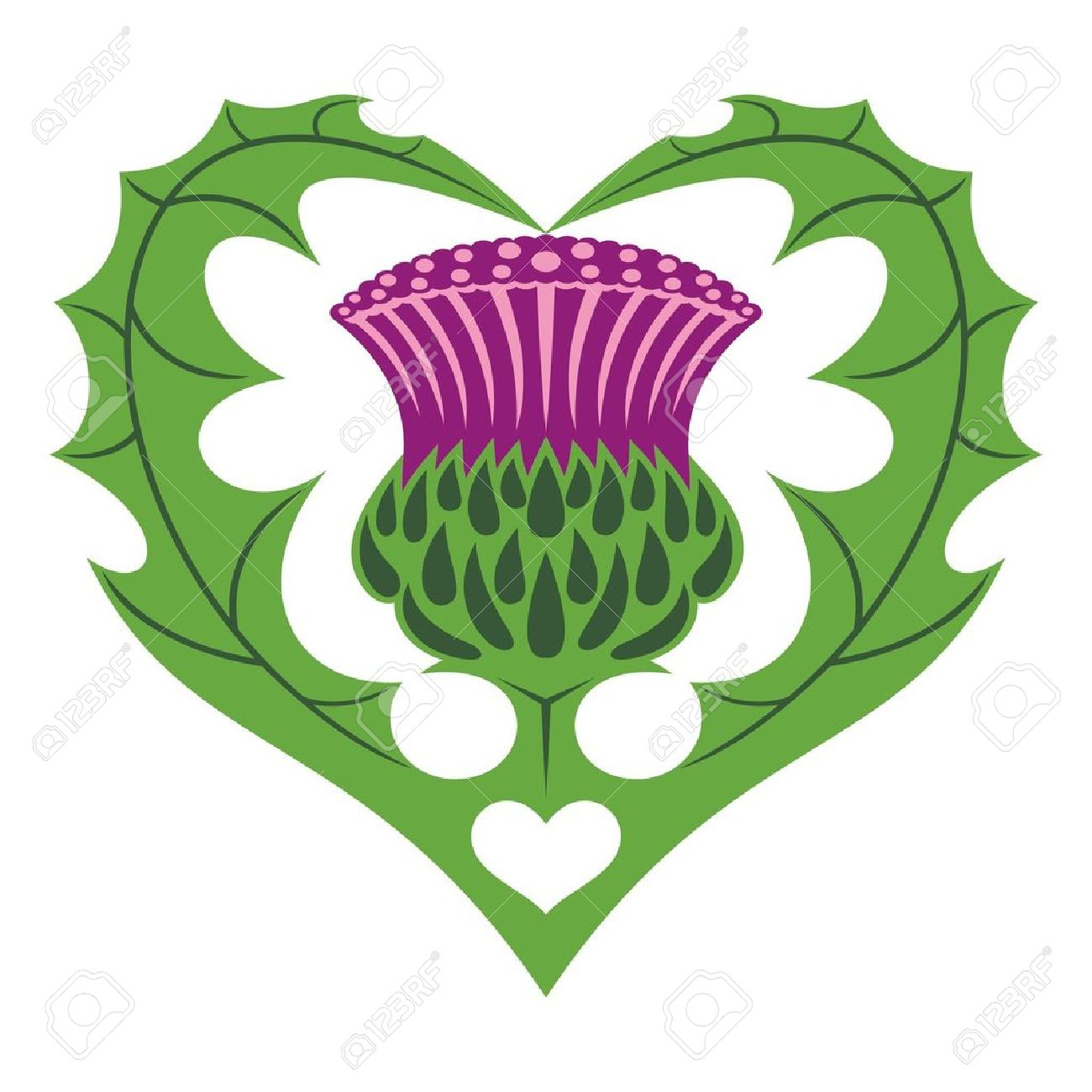 Thistle clipart #3, Download drawings
