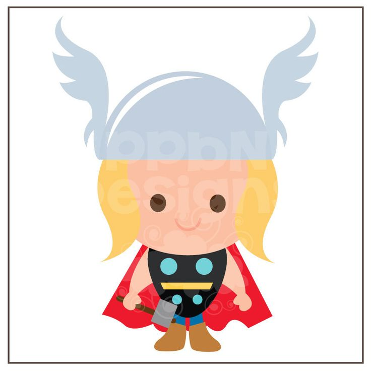 Thor svg #4, Download drawings