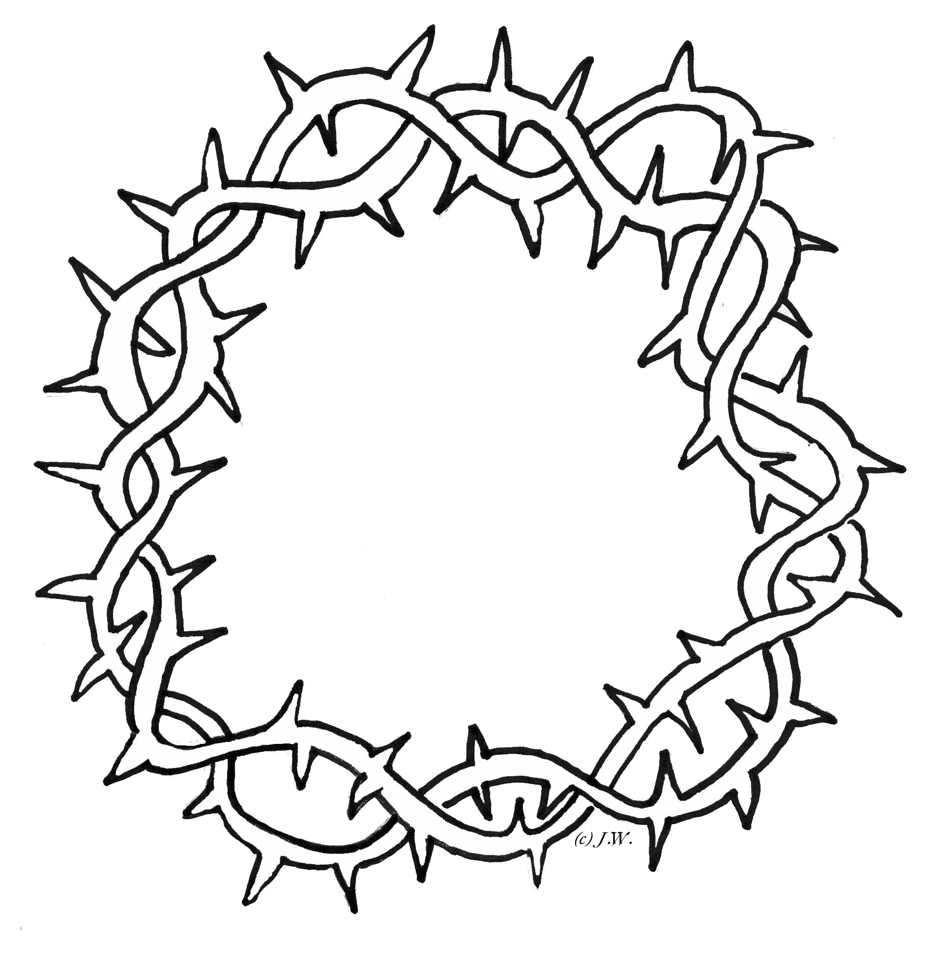 Thorns clipart #3, Download drawings