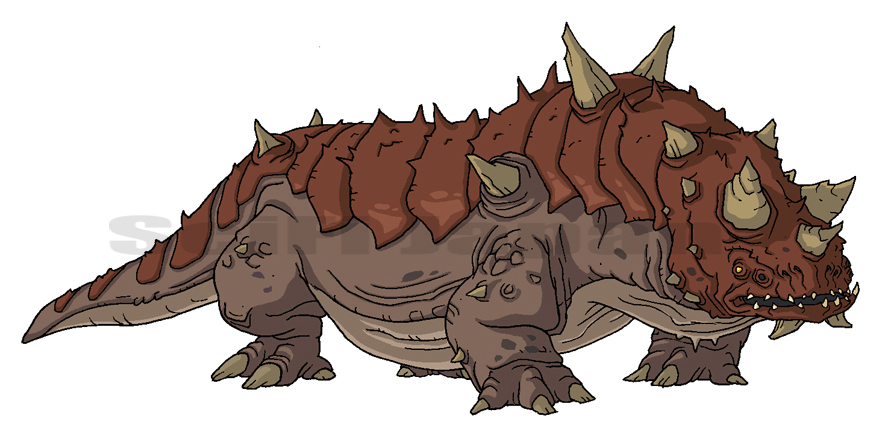 Thorny Devil clipart #15, Download drawings